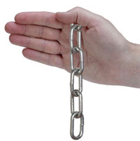 Galvanized Chain 6mm