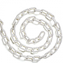 Plastic chain white 6mm (25 metres)